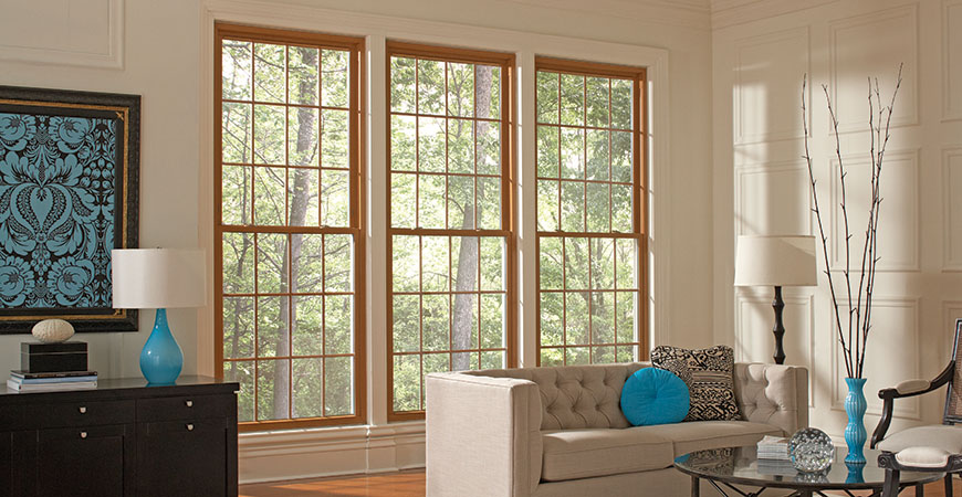 Mezzo by Revere Double Hung vinyl replacement windows
