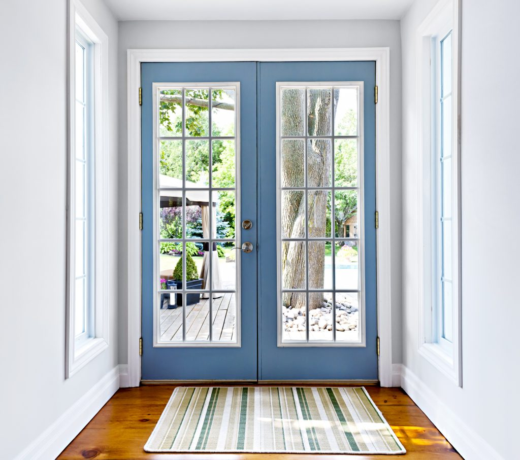 french style hinged patio glass door Milwaukee