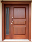 Wood replacement entry door milwaukee