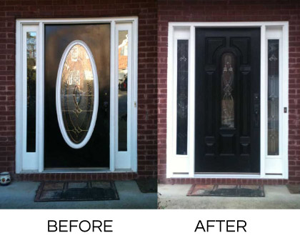 Replacement Entry Door with Sidelights
