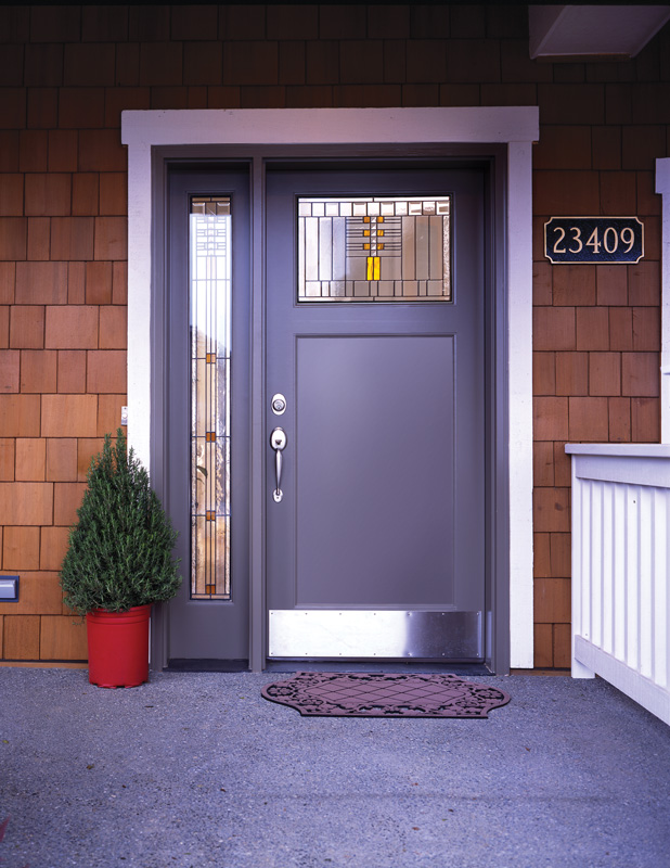 Simpson replacement entry door