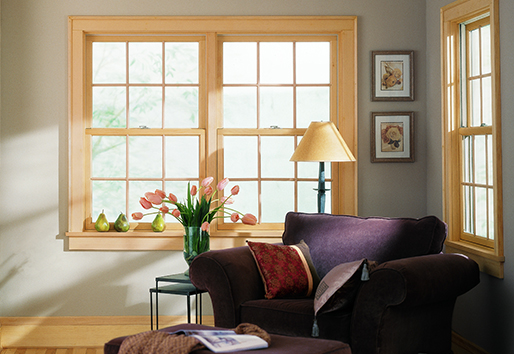 Andersen 200 series wood double hung replacement windows