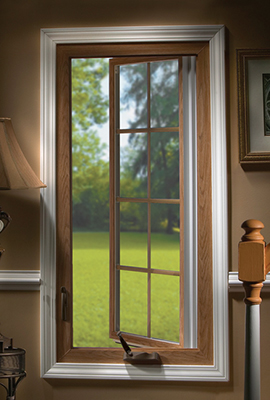 Vista Vinyl Casement Replacement Window