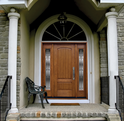 Waudena replacement entry door